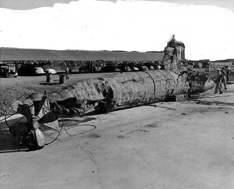 "Japanese ""Type A"" Midget Submarine"