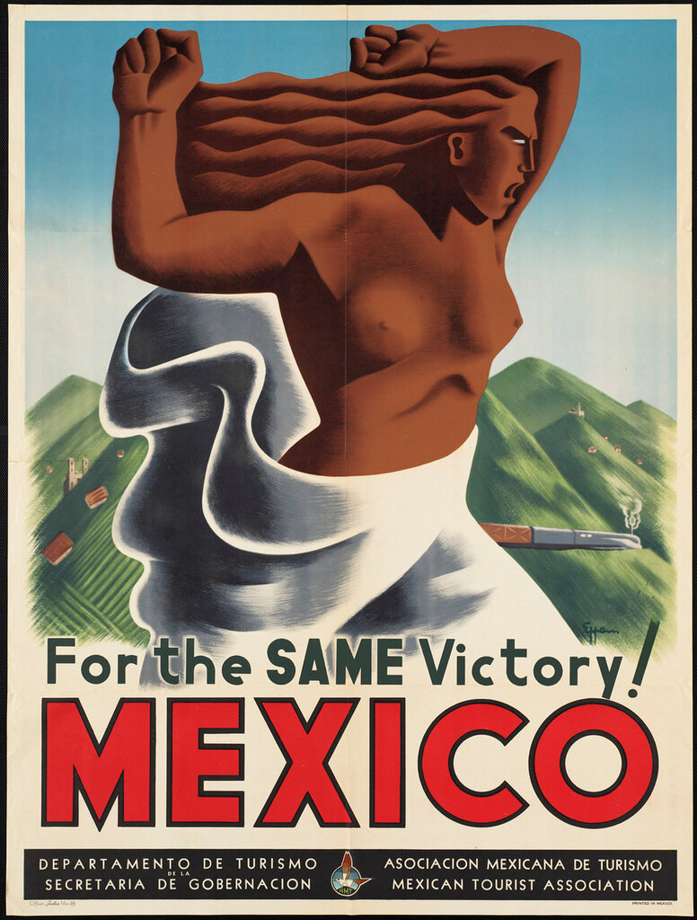 Travel posters Mexico 1940-1950