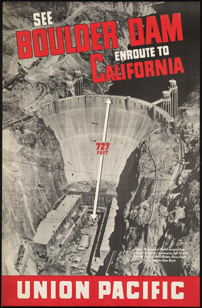 Travel posters California 1935