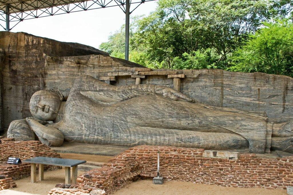 Buddha Statue, Gal Vihara, Sri Lanka