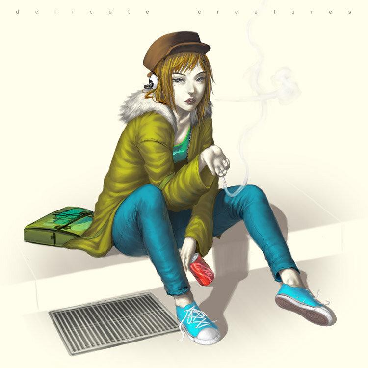 Картины - иллюстратора Эльпиной
