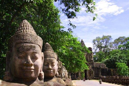 Город Ангкор тхом (Angkor thom)