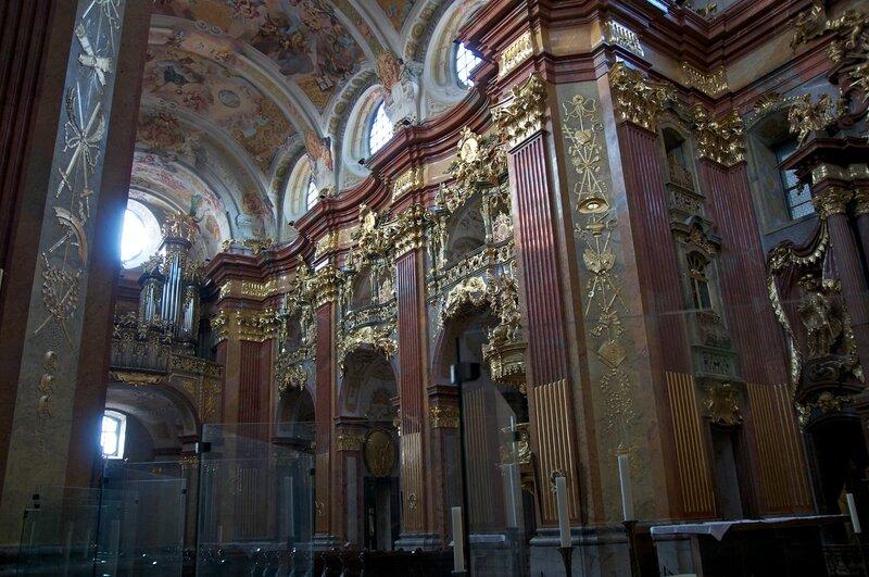 Аббатство Мельк. Бенедиктинский монастырь. Австрия