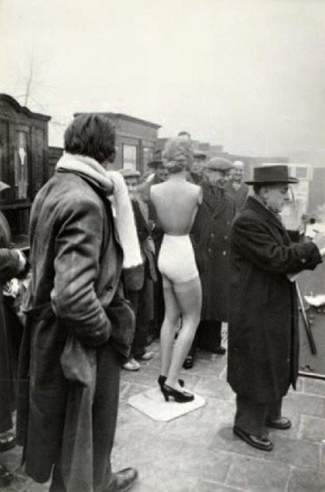 1950. Рынок мебели. Антверпен, Бельгия