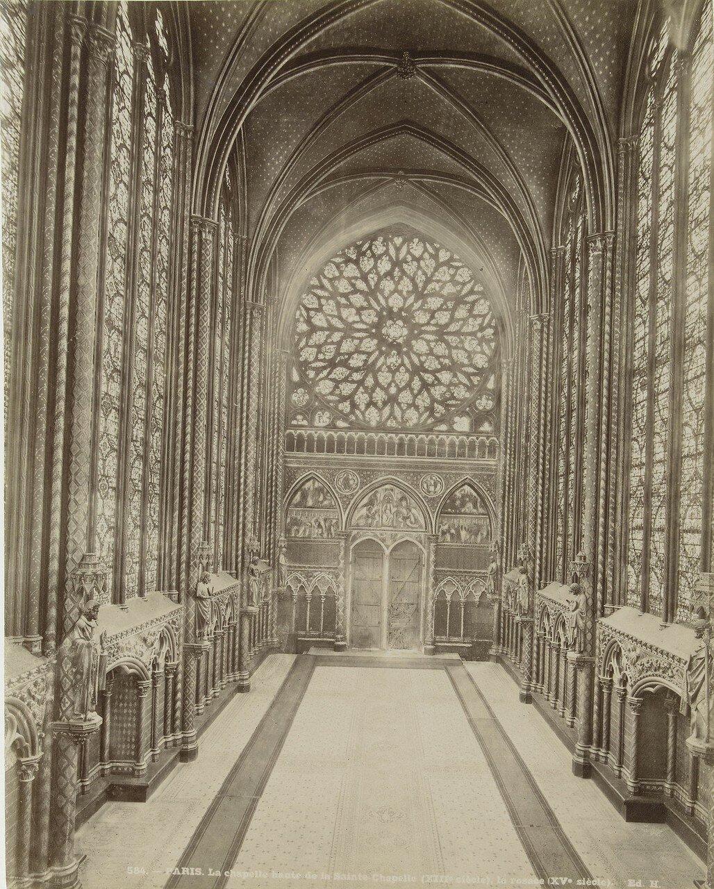 1870-е. Часовня в Сент-Шапель