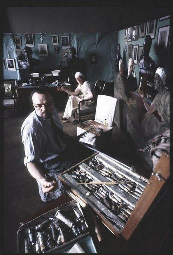 Москва. Александр Локтионов, академический советский живописец