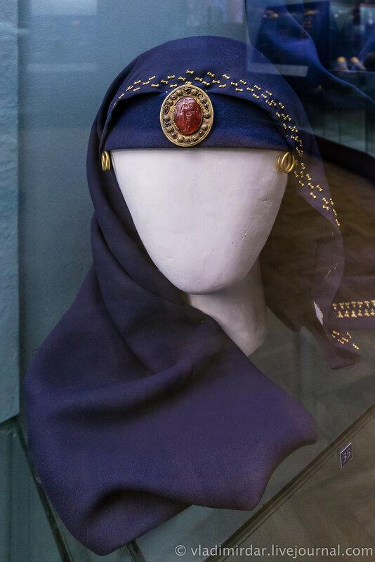 Комплекс украшений женского сарматского костюма.