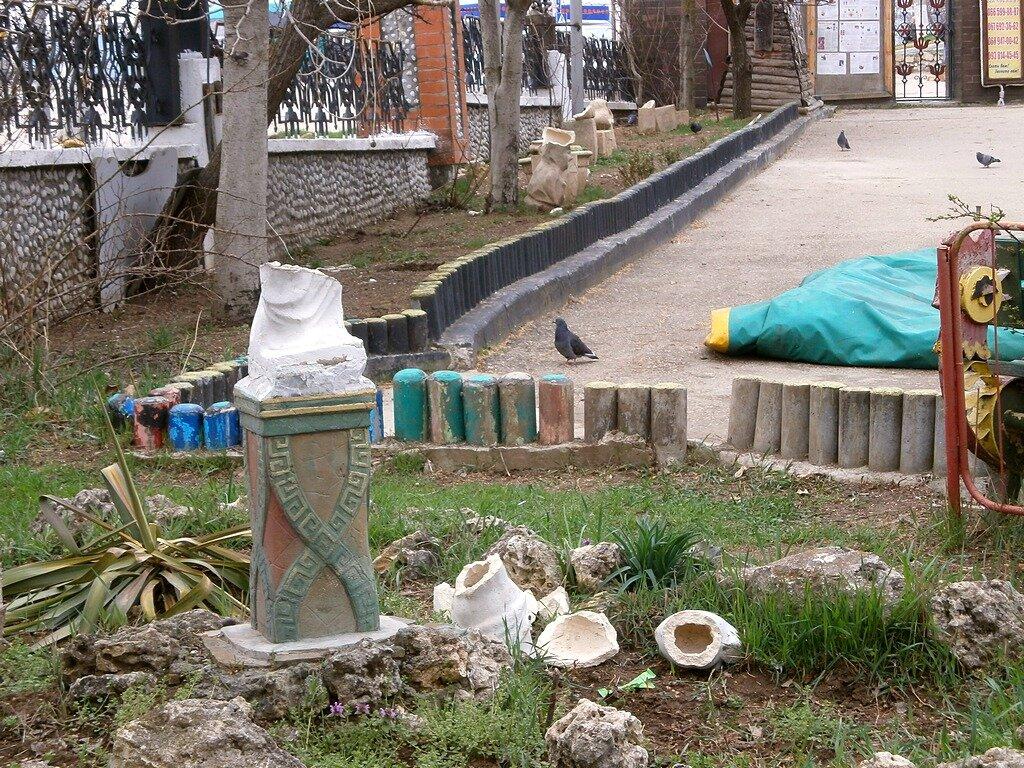 Погром в детском городке «Лукоморье»