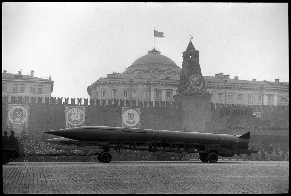 USSR. Moscow. 1957. Parade in Red Square for the 40th anniversary of the Bolshevik Revolution 4.jpg