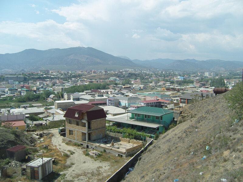 татарские кварталы в городе Судак
