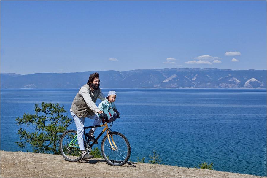 Байкал. Ольхон. Велосипед и улыбки