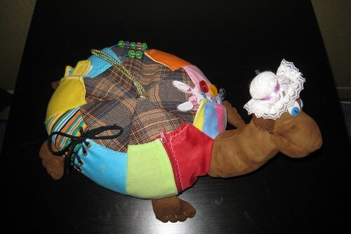 Развивающие игрушки своими руками... развивающе-вдохновляющая черепаха