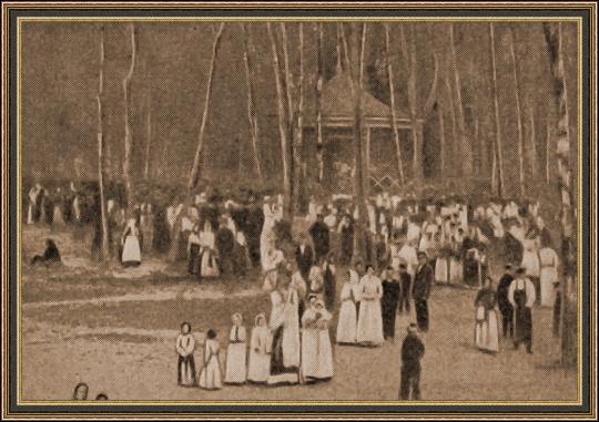 Общее собрание рабочих. Первый день забастовки. 1906 г.