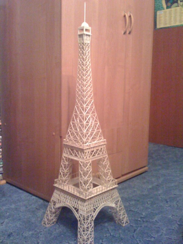 Эйфелева башня сделана своими руками 358