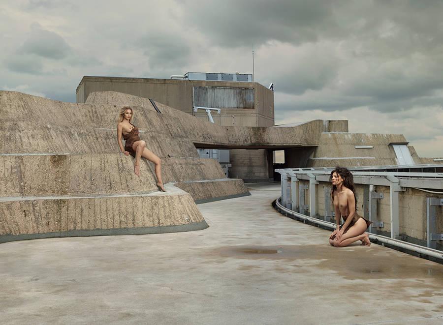 Развратный Эдем: эротические фотографии Саши Голдбергера