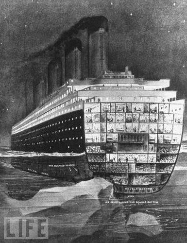 «Титаник» скрылся под водой в