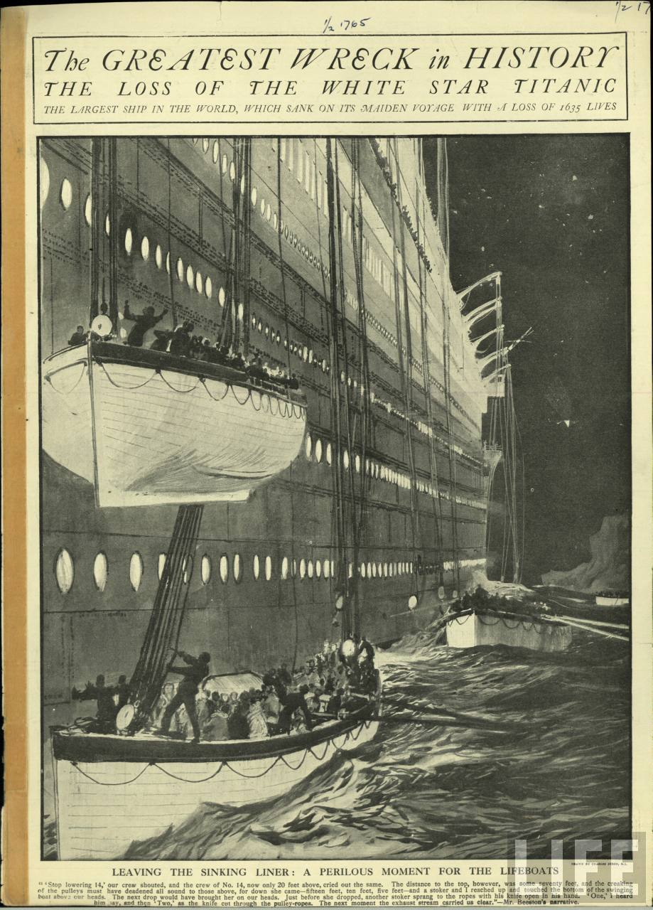 a brief summary of the events during the tragedy of the titanic in 1912 The titanic sank during her first and final voyage across the atlantic ocean when she struck an iceberg off the coast of newfoundland in 1912.