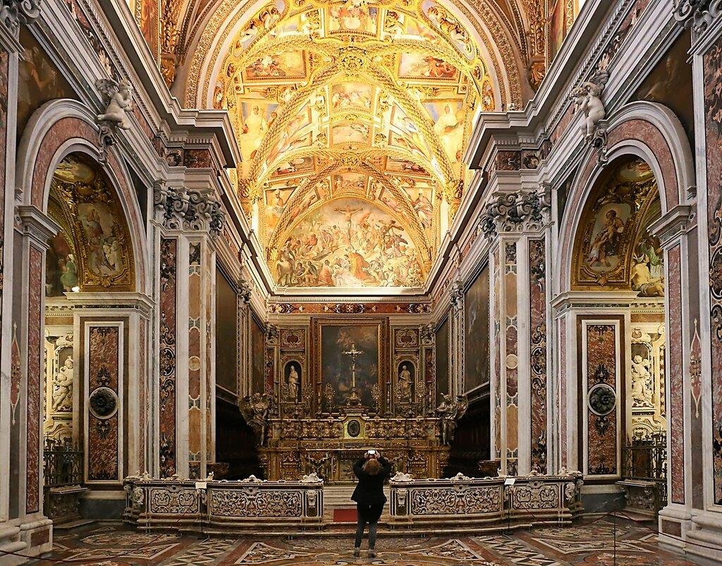Неаполь. Церковь монастыря Сан-Мартино