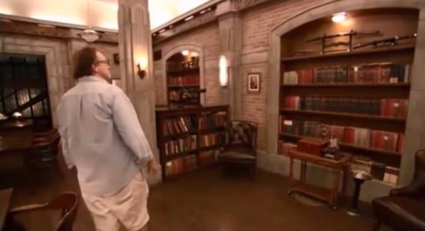 Видео. Экскурсия по бункеру Хранителей знаний Сериал Сверхъестественное