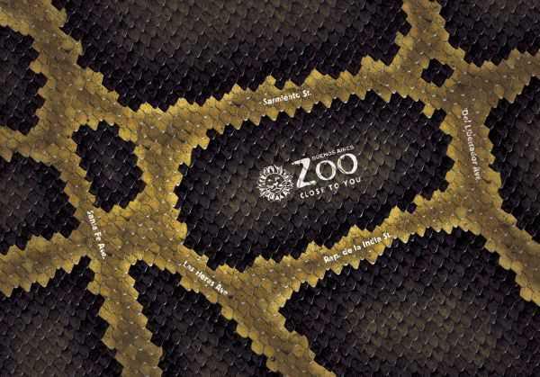 Реклама зоопарков. Креативная и позитивная.