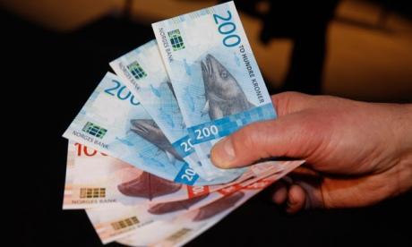 Центральный банк Норвегии впервый раз выпустил банкноты без портретов выдающихся личностей