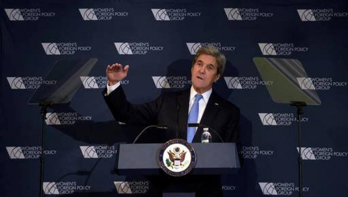 Керри: США помешали Российской Федерации добраться до столицы Украины