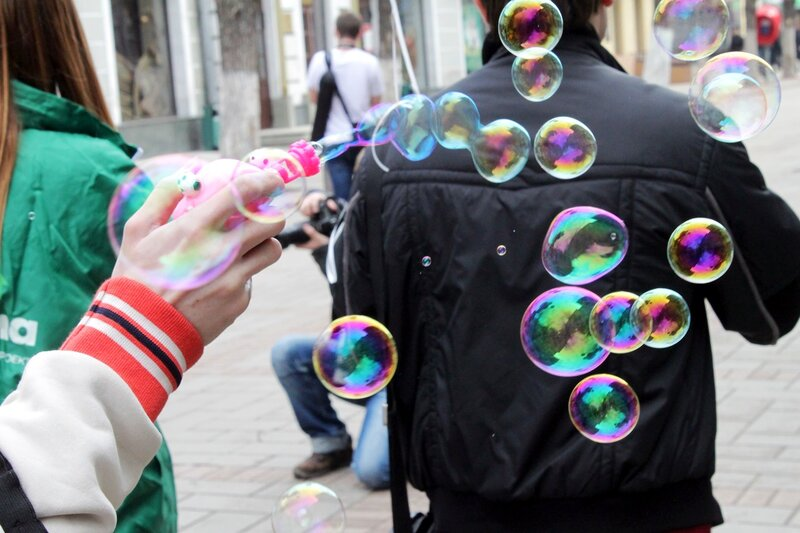 Мыльные пузыри. Дримфлеш в Саратове, 08 апреля 2012 года