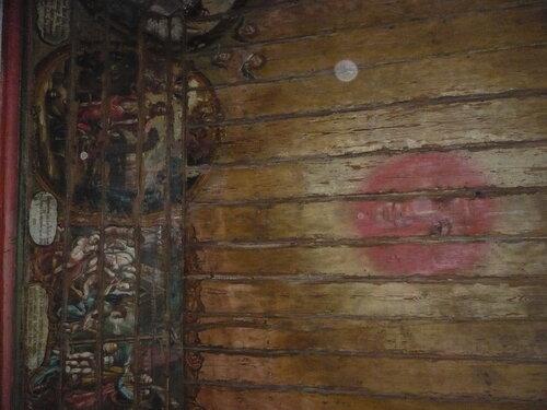 Энергетические сгустки вокруг Ярила Солнца в Старочеркасском Войсковом соборе