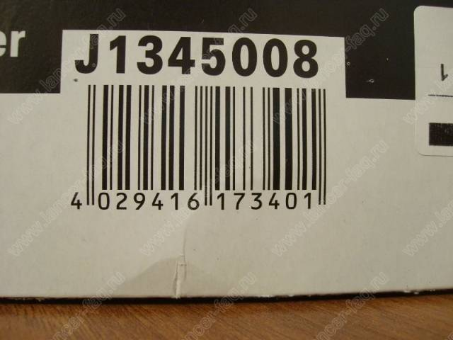 салонный фильтр Jakoparts J1345008
