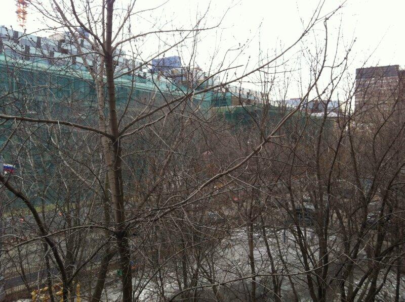 Вид с балкона Северо-Западного р-на