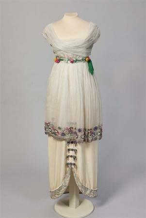Платье от Поля Пуаре. 1913