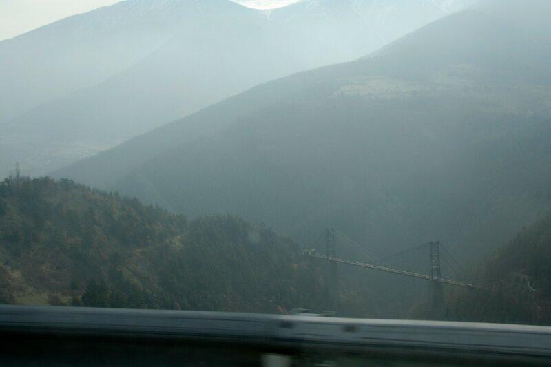 Железнодорожный мост в Восточных Пиренеях