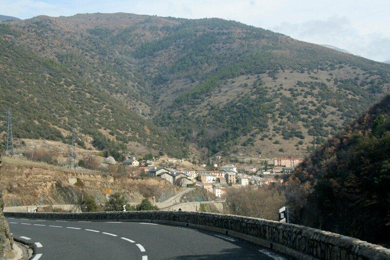 Городок в Восточных Пиренеях