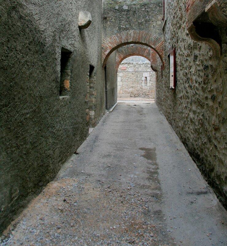 Проход в крепости Вильфранш-де-Конфлан