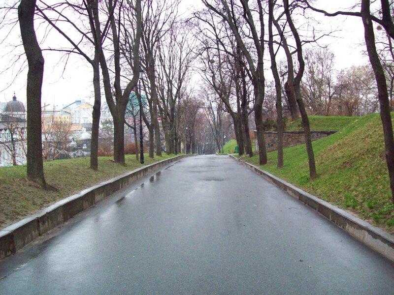 дорога мариинского парка