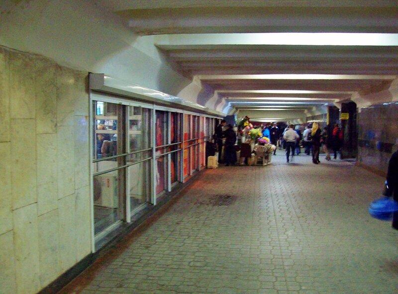 Подземный переход под Майданом Незалежности