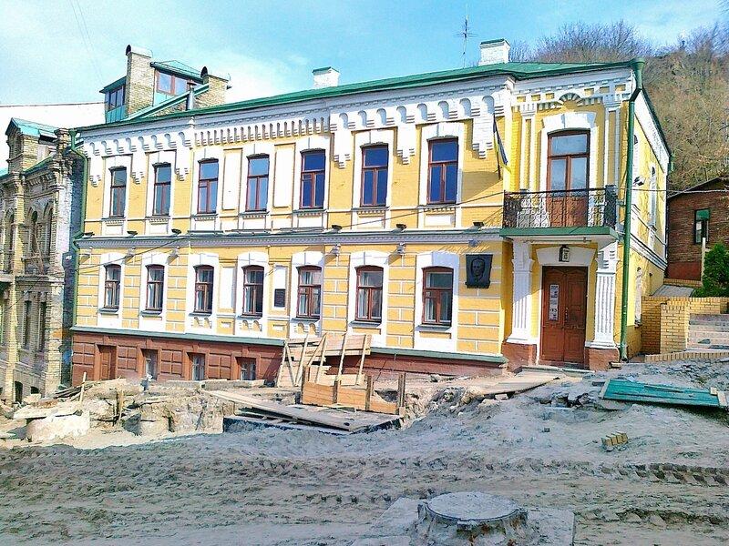 Дом Булгакова на Андреевском спуске