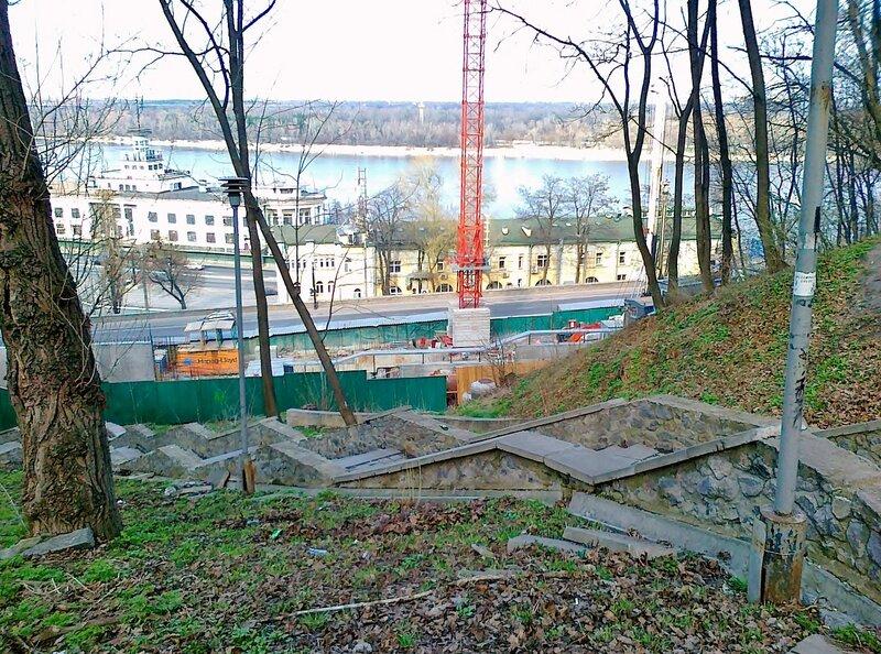 Лестница на Владимирскую горку