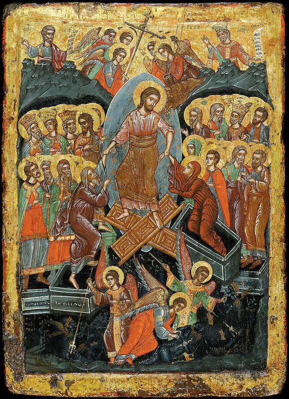 ВОСКРЕСЕНИЕ ХРИСТОВО - СОШЕСТВИЕ ВО АД