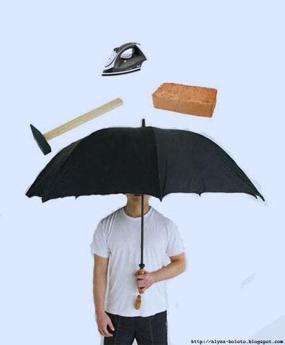 Испытания противометеоритного зонтика