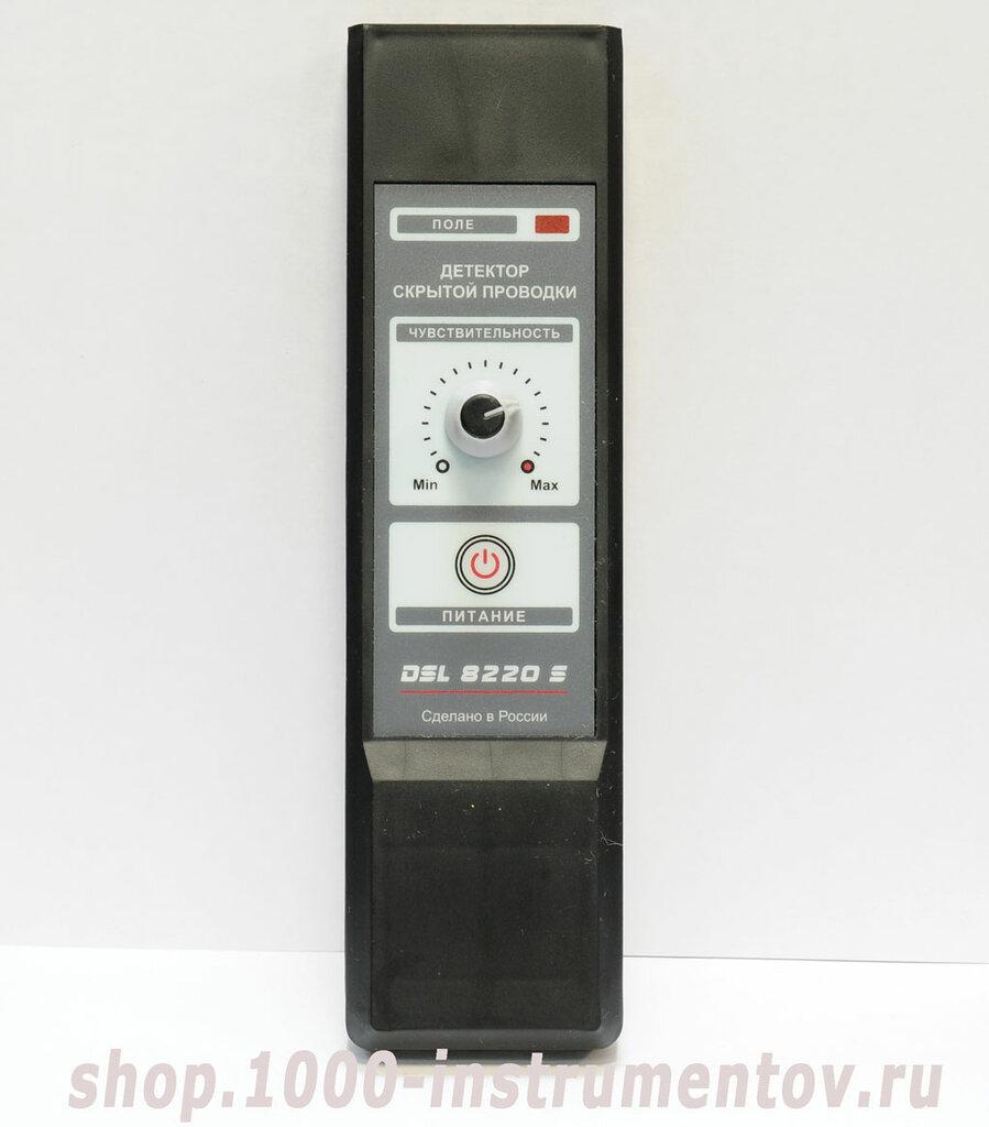 Детектор скрытой проводки DSL 8220S