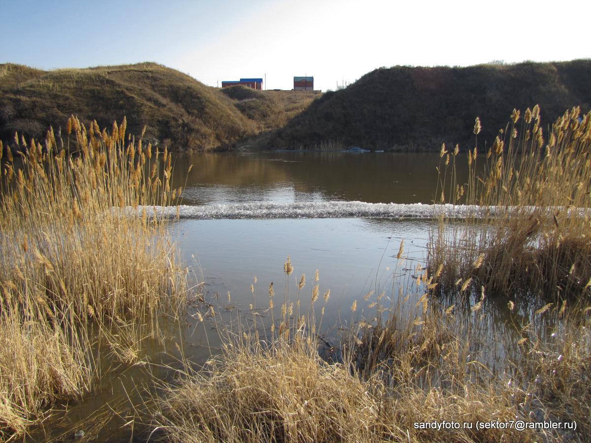Река вскрылась (Троицк, Челябинская область)