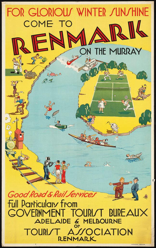 Travel posters Australia 1910-1959
