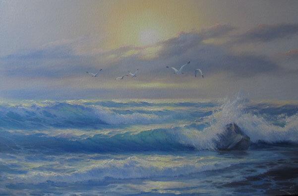 Живая морская волна Натальи Токарь!