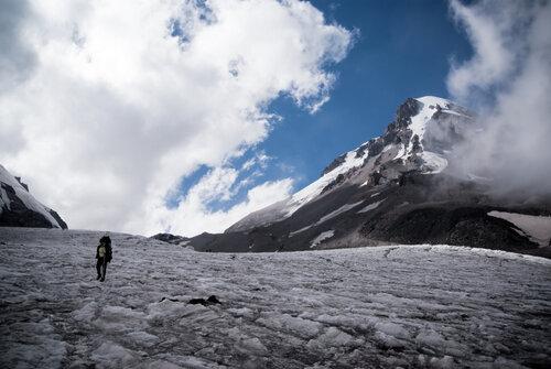 Гергети ледник