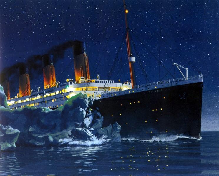 Титаник его рисунки