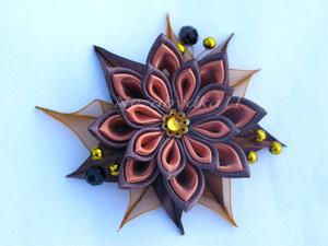 Прекрасные цветы канзаши 0_8daa2_4001b17c_M