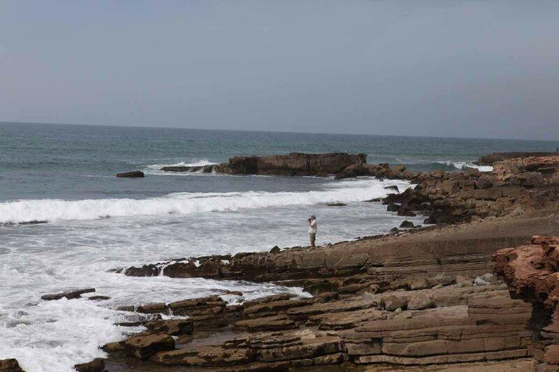 Агадир - океан, дикий пляж