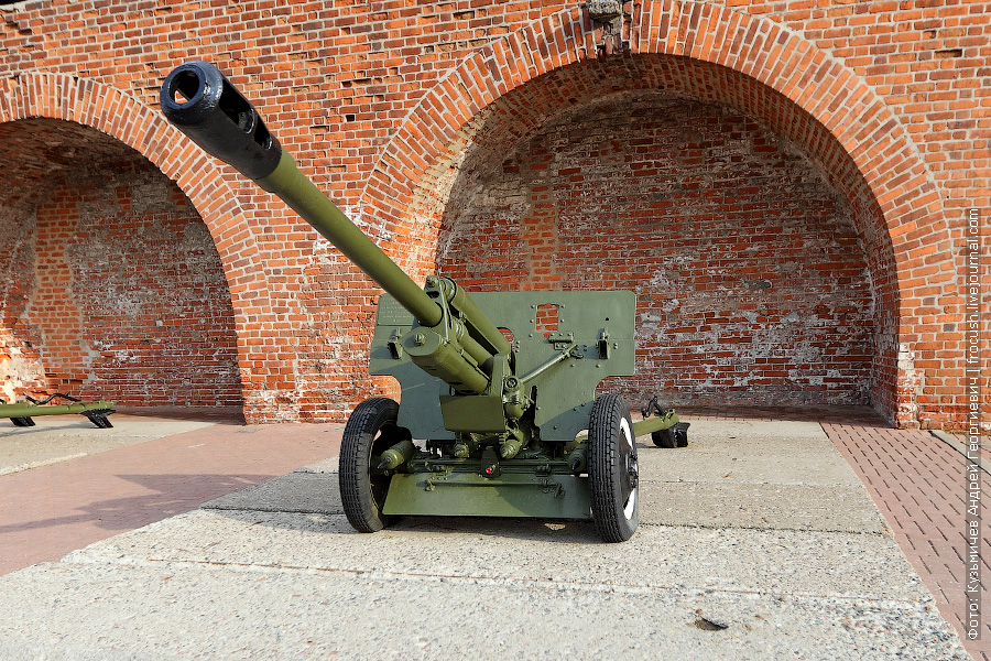 Дивизионная противотанковая 76,2-мм пушка ЗИС-3