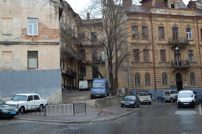 ул. Марченко - место облавы